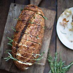Rustic Herb Garlic Bread