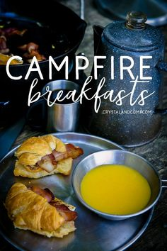 campfire breakfasts Camping Bedarf, Family Camping, Camping Hacks, Camping Recipes, Camping Cooking, Backpacking Recipes, Camping Foods, Camping Activities, Camping Dishes