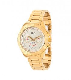 D    Chronograph watch - champagne-gold/gold