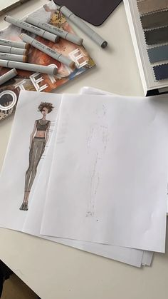 We are a Fashion design and development company that helps designers and manufacturers from conception to production. Fashion Model Sketch, Fashion Design Sketchbook, Fashion Design Portfolio, Fashion Design Drawings, Fashion Sketches, Dress Sketches, Fashion Drawing Tutorial, Fashion Figure Drawing, Fashion Illustration Tutorial