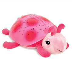 Our pink lady bug night light is perfect for girls who are scared of the dark!