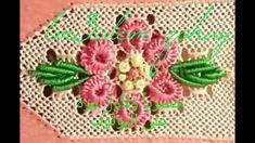 زواقة الوردة بالحبيك و الاوراق بالدويدات لراندة كوزة الشهدة للمعلم زهير