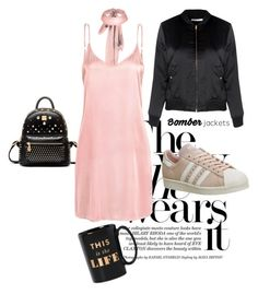 """""""trend"""" by jeneva-tagnipez on Polyvore featuring WithChic, Glamorous, adidas and Kate Spade"""