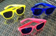 40 óculos escuro colorido p/ festa brinde- 40 peças atacado