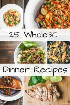 It seems like everywhere I turn lately, someone is talking about the Whole30 and at the same time searching for Whole30 compliant recipes so today I wanted to round up a list of delicious and healthy...