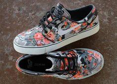 """Nike SB Janoski """"Floral Mandarin Camo"""""""