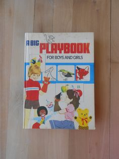 A Big Playbook for Boys and Girls 1977 by VioletThriftVintage