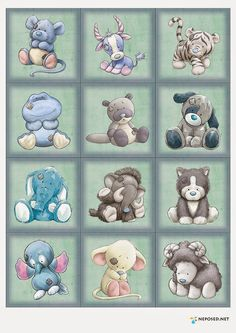 Tatty teddy - my blue nose friends Tatty Teddy, Quilt Baby, Cute Images, Cute Pictures, Animal Drawings, Cute Drawings, Baby Animals, Cute Animals, Baby Art