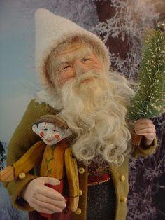 Norma Decamp's santas  Ebay and Facebook