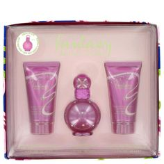 Fantasy By Britney Spears Gift Set -- 1 Oz Eau De Parfum Spray + 1.7 Oz Body Lotion + 1.7 Oz Shower Gel