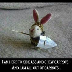 No carrots