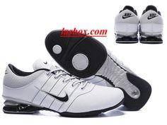 detailed look e05e9 e6c21 chaussures nike shox r2 homme blanc argent noir www.lashox.com