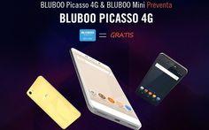 """Bluboo Picasso es un smartphone Android 6.0 que puedes conseguir durante esta promoción por alrededor de 70 €. Con pantalla de 5.0"""", 16 GB ROM y 2 GB RAM."""