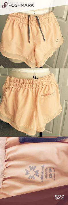Adroable Without Walls Athletic Shorts Pale orange athletic shorts bought from Urban Outfitters. Still in amazing condition!!! Barely worn Urban Outfitters Shorts