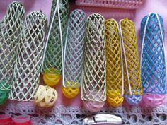 Weiteres - Bunte Lockenwicklersammlung, 50/60er Jahre - ein Designerstück von…