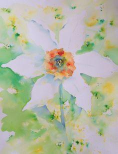 Brusho daffodil