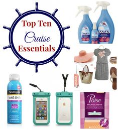 Top Ten Travel Essentials for Cruising - The Experimental Mommy Packing List For Cruise, Cruise Tips, Cruise Travel, Cruise Vacation, Vacation Trips, Packing Lists, Vacation Ideas, Bahamas Honeymoon, Honeymoon Cruise