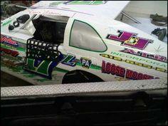 Vince Laboon Racecar with team logo
