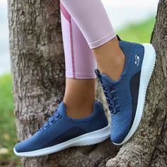 Let nature be your gym! 🌳💪💕👟 adidas Superstar Shoes - Nike Air Max 97 in Barely Rose Coole Nike Schuhe - High Heels Stilettos, Women's Pumps, Skechers, Sketchers Shoes Women, Sketchers Go Walk, Sensible Shoes, Moda Fitness, Fall Shoes, Girls Shoes