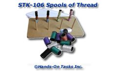 Stacking Spools of Thread Activity