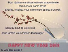 Happy New Year 2013 decodesign / Décoration