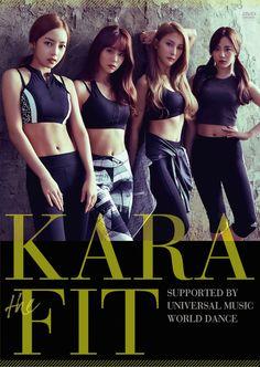 "KARA teaser for ""KARA the FIT"" fitness DVD release in Japan #카라 #カラ"