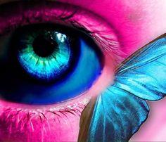 renkli göz