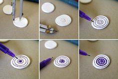 Journey into Creativity: Mandala clay magnets