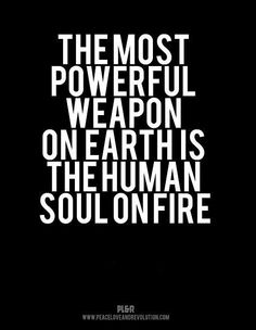 souls on fire are needed...