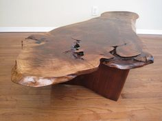 Peter Roberts Antiques - George Nakashima - Walnut Conoid Coffee Table By George Nakashima - 1stdibs / View 3