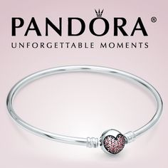 Pandora Circle of Love Heart Bangle - Limited Edition I need a new, longer bracelet part for mine since I've added more charms. This would be perfect!