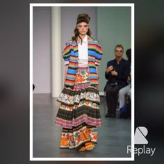 "#stellajeanltd ""EN ROUTE"" SS 16 Runway! #SS16 #SpringSummer16 #StellaJean #EthicallyEnvisioned #EthicalFashion #OneNoOneAndOneHundredThousandKM #Rassemble #MigrantIdentity #Andes #womenswear #CNMI #MMD #MFW #fashionshow #StellaJeanShow"