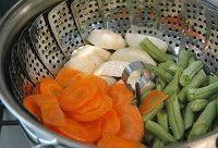 Cantinho Vegetariano: Cozinhando alimentos no vapor