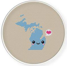 Michigan cross stitch cross-stitch-patterns-free (62) - Knitting, Crochet, Dıy, Craft, Free Patterns - Knitting, Crochet, Dıy, Craft, Free Patterns
