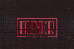FREE bunkr font