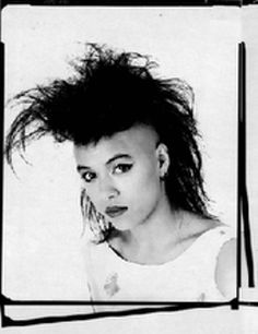 Goth Music 80s Music Annabella Lwin Girl Mohawk Punk