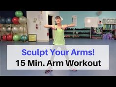 Tone your arms and strengthen your muscles in just 15 minutes a day, 3 times per week with this strength training arm workout for seniors. Major Muscles, Core Muscles, Gym Workouts, At Home Workouts, Floor Workouts, Boxing Workout, Body Weight, Weight Loss, Sculpted Arms