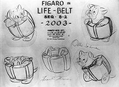 Living Lines Library: Pinocchio (1940) - Model Sheets & Production Drawings