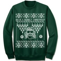 Have A Dudely Christmas Ugly Sweater. – Merry Christmas Sweaters