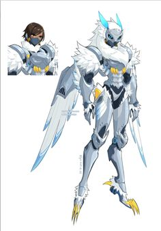 I love that this would correspond with Ana's skin and would make sense since Pharah's got a bird of prey theme.