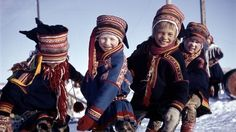 samisk - Sami children