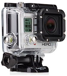 Go Pro Video Camera. Can take underwater shots up to 197ft