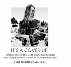 TOPSHOP - IT'S A COVER UP
