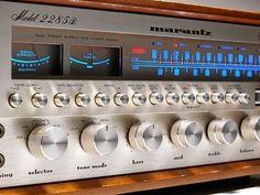 marantz vintage receiver 2285B.  #marantz2285 https://www.pinterest.com/0bvuc9ca1gm03at/
