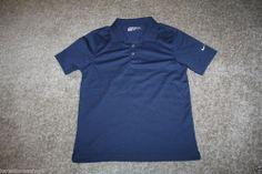 Nike Navy Blue Golf Polo Shirt Boys Size Large