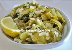 yetur'la lezzet kareleri: kabak sıyırma (enginar yemeği lezzetinde) Turkish Recipes, Ethnic Recipes, Snack Recipes, Snacks, Easy Recipes, Canapes, Food Presentation, Finger Foods, Risotto