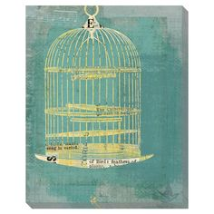 Rounded Birdcage Wall Art, @Jo Bayne this reminds me of something you would like