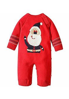 Product review for AK Beauty Unisex Baby Sweater Cartoon Pattern Toddler Romper Onesie Suit Christmas Xmas Red Sweater.  Size Chart(in inch): Advise 0-6 Months:Sleeve 9.84'' / Chest 22.05'' / Shoulder to feet 22.44'' / Shoulder to crotch 16.14'' Advise 6-12 Months:Sleeve 10.63'' / Chest 23.62'' / Shoulder to feet 24.41'' / Shoulder to crotch...