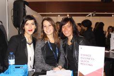 Corinne Visse (à Droite), Responsable évènement client et développement relationnel chez AG2R LA MONDIALE et ses collaboratrices.