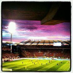Belgique-pays-bas. Même le ciel était rouge...